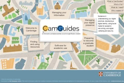 CamGuides for Master's students