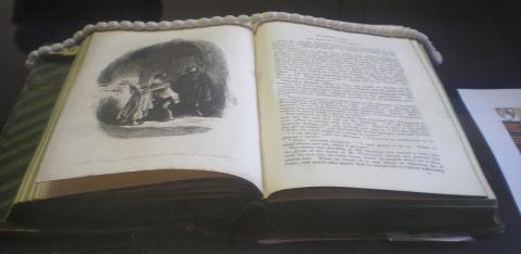 Charles Dickens exhibition, Selwyn