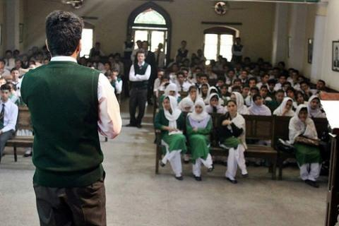 Students at Edwardes College