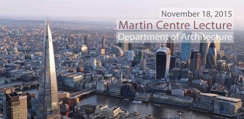 Martin Centre Lecture