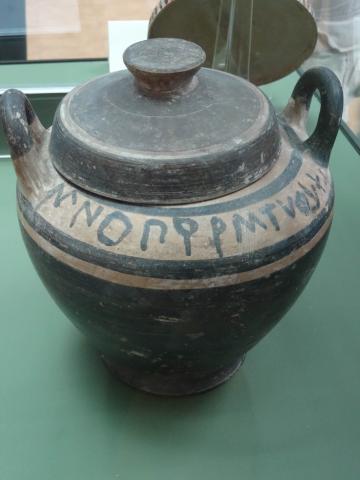 Metaponto Greek Abecedarium from Cambridge University