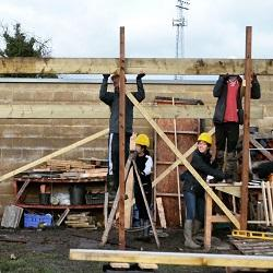 """First year Cambridge Architects support local homeless charity with """"Growing Space"""" project"""